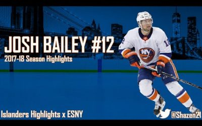 Josh Bailey will be Mr. Islander. That's bad.