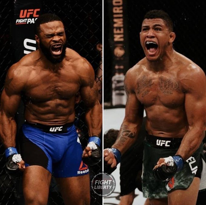 UFC – Tyron Woodley versus Gilbert Burns