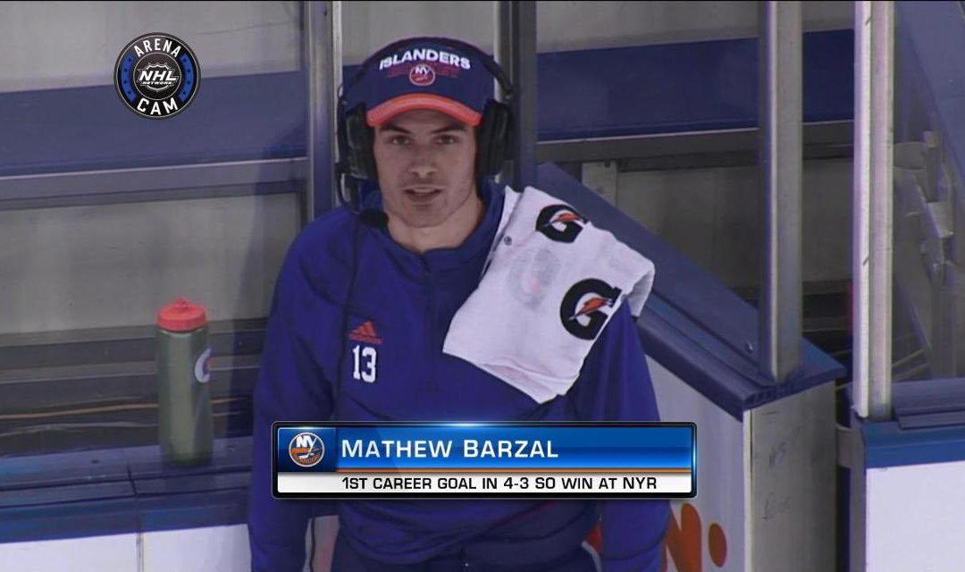 Mathew Barzal is an A**hole